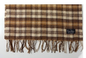 Westaway long pure camelhair scarf